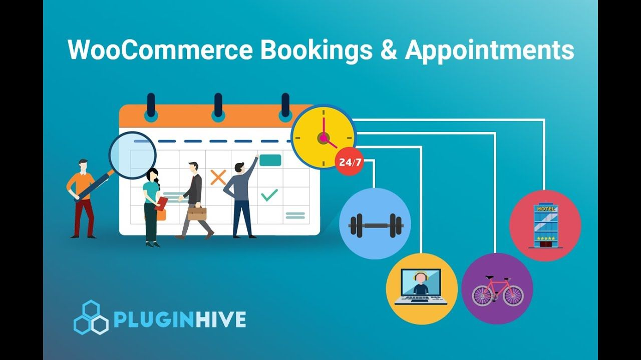 Bookings and Appointments plugin by PluginHive