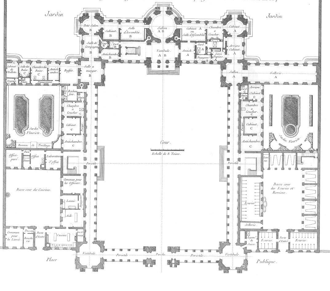 chateau floorplan google great house pinterest