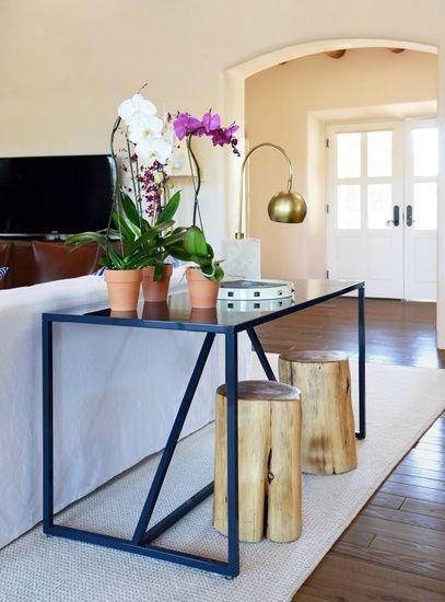 id e console derri re le canap deco maison pinterest les canap s derriere et d co maison. Black Bedroom Furniture Sets. Home Design Ideas