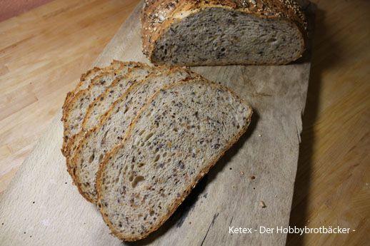Rezept für ein Saatensonne Brot