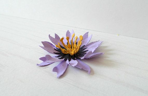 50 purple seeded paper flowers plantable paper by papersprouts 7500