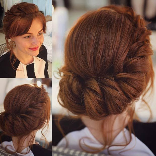 31 Most Beautiful Updos for Prom   Long hair styles, Prom ...