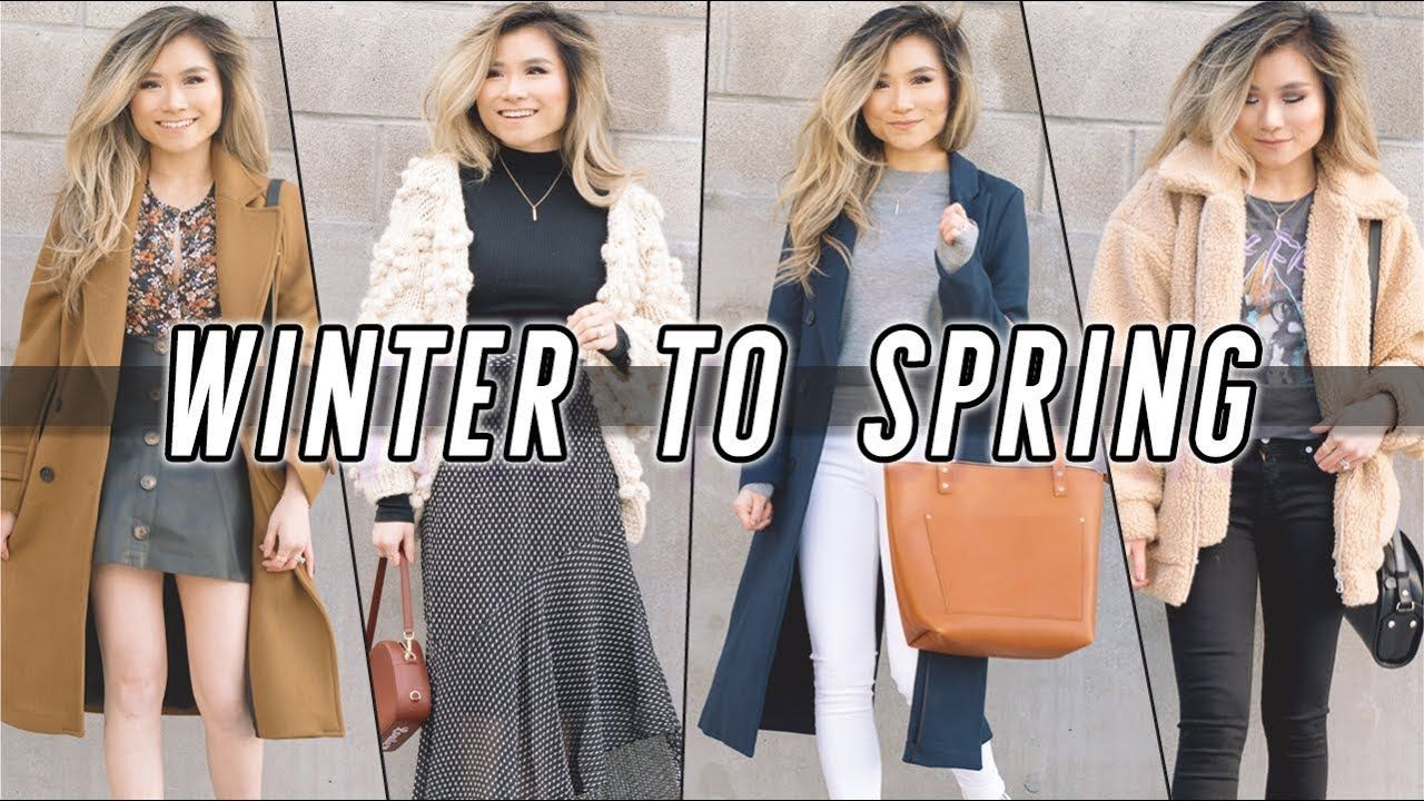 1bf2e4814e2d WINTER to SPRING Transitional Lookbook | 2018 Spring Outfit Ideas | Miss.