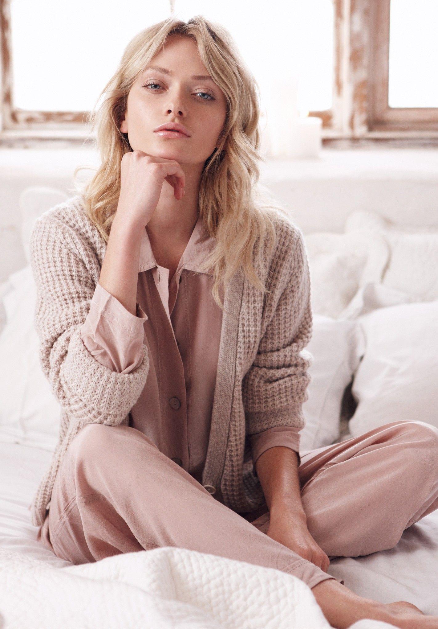 09c749f6d508 Antique Pink Silk Pyjamas