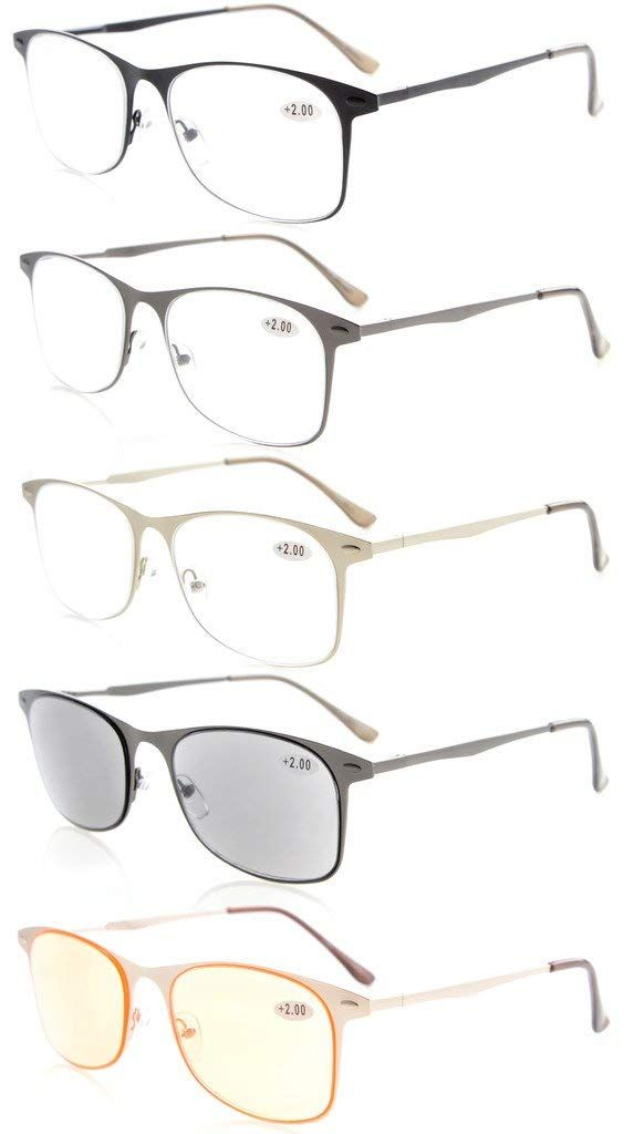 60602af330a    Click to Buy    R14001 Silver Eyekepper Small Lenes Lightweight Rimless  Reading Glasses +0.50---+4.00  Affiliate