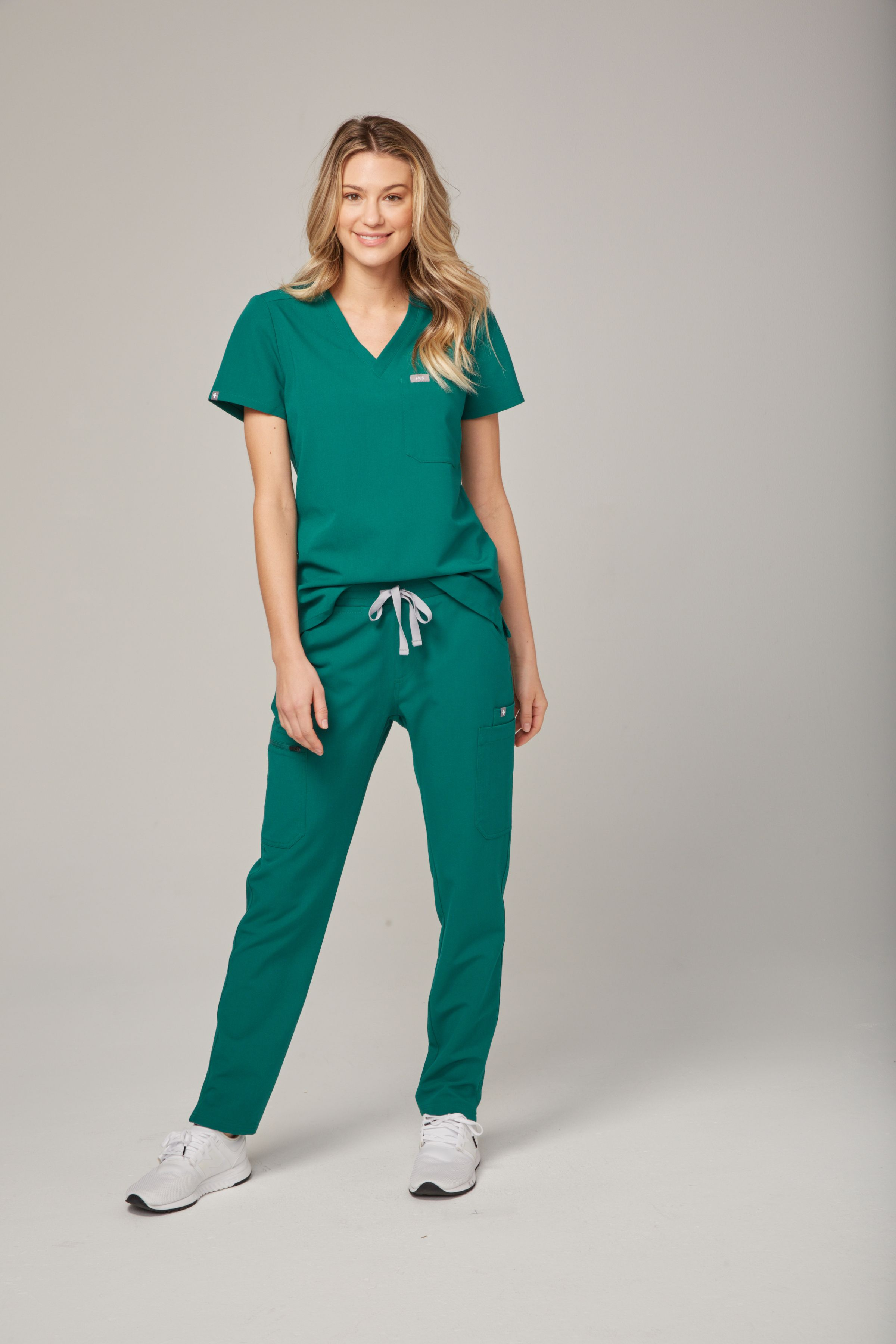 e5705538aba Women's Yola Skinny Scrub pant - Hunter Green Polish your professional look  with our most stylin