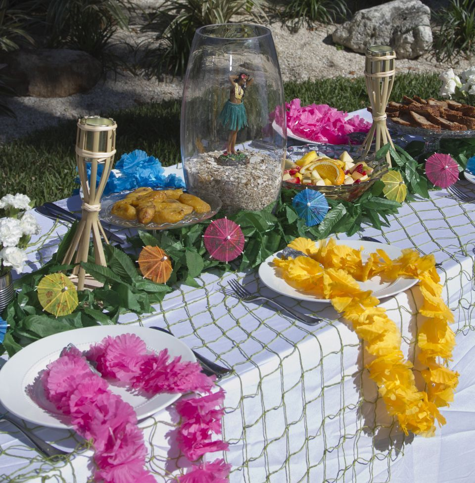 Issue 3 Of Lpf Mag Is Here Hawaiian Party Theme Luau Decorations Luau Table Decorations
