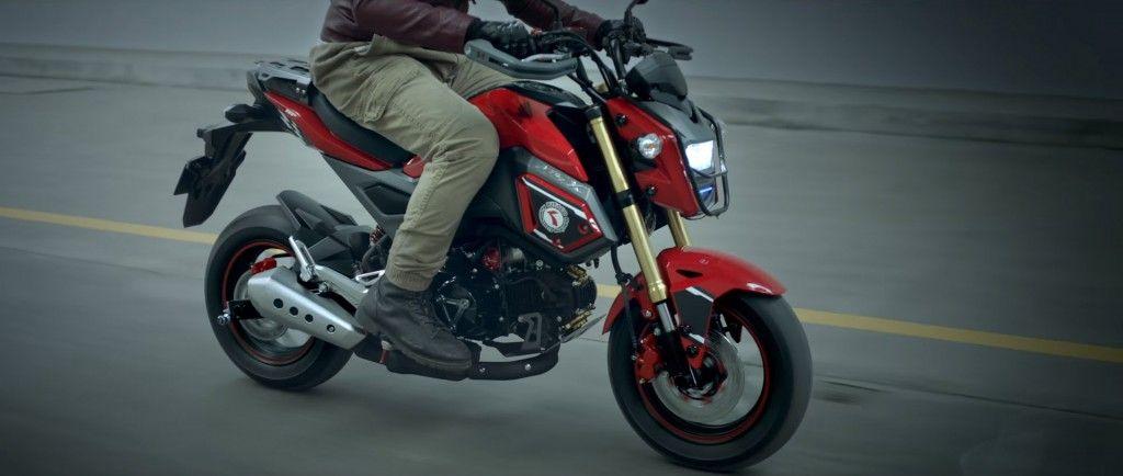 2016 Honda Motorcycle News Model Update Changes SF