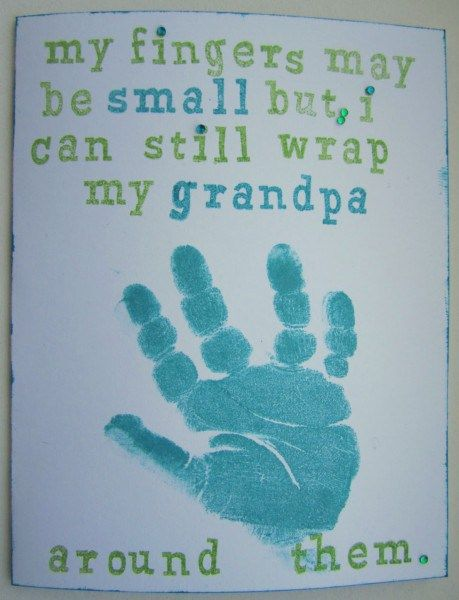 Sweet DIY Card For Grandpa Grandparentsday