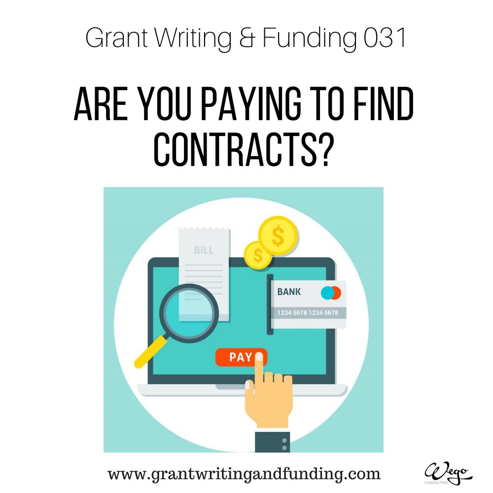 You Will Be Able To Find Many Online Databases For State And Federal Contracts That Require A Paid Subscription Pros A On Grant Writing Writing Contract
