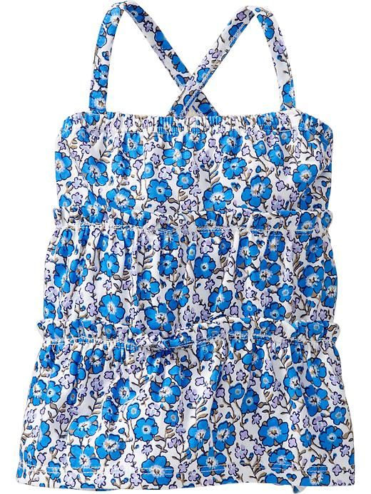 Emma - Floral-Print Tiered Camis for Baby Product Image
