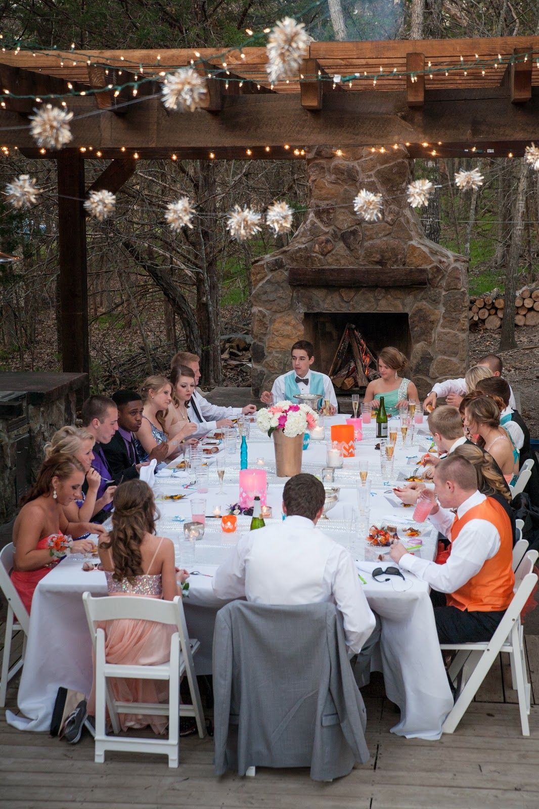 Marvelous Prom Dinner Party Ideas Part - 1: Abby Mitchell Event Planning And Design: Real Event: Prom Dinner Party