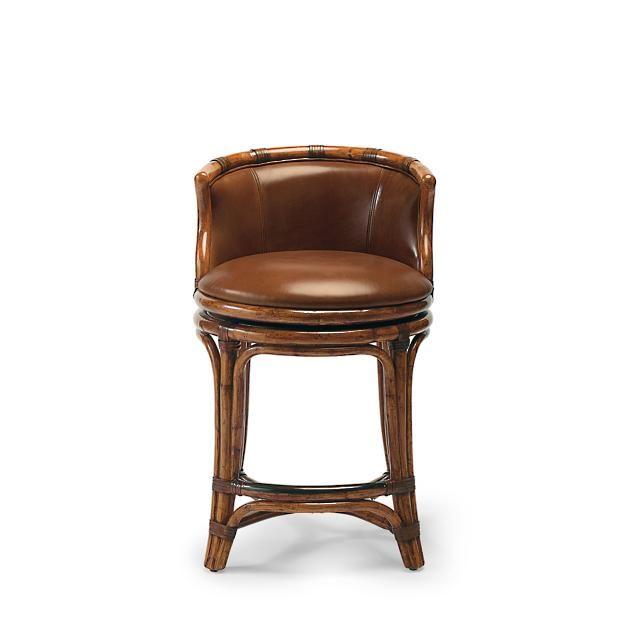 Fine Bali Woven Swivel Counter Height Bar Stool 25H Seat Bar Ncnpc Chair Design For Home Ncnpcorg