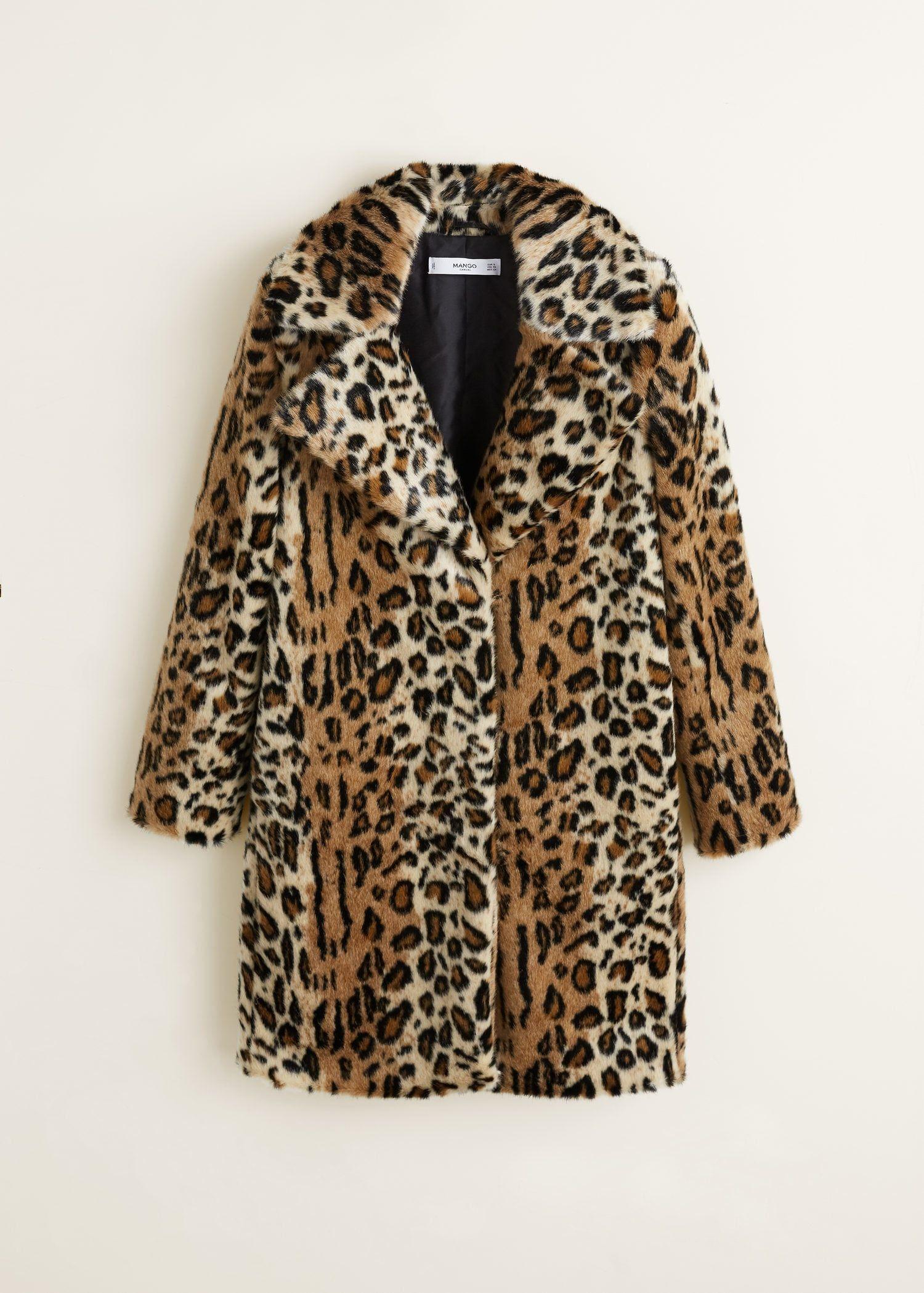 51101c291bbd Leopard faux-fur coat - Women en 2019 | Wish List | Leopard print ...