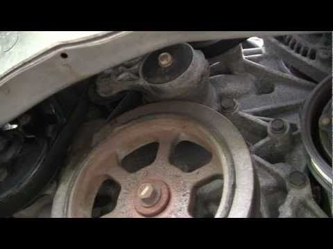 Dodge Caravan 3 3l 3 8l Water Pump Replacement Mp4 Caravan Van