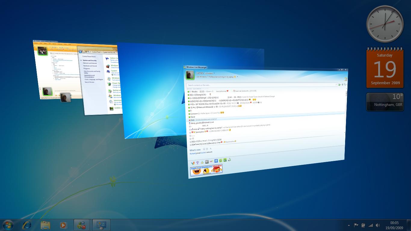 Aero Windows 7 Remote Work Windows Uplifting News