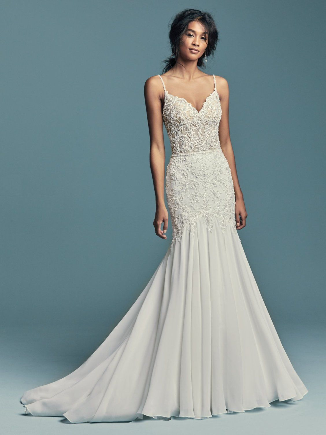 New Boho Wedding Dresses from the Lucienne Collection | Boho, Gowns ...