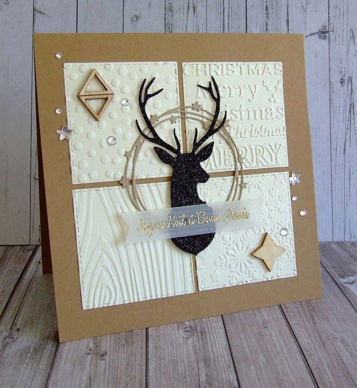 Masculine Card Deer  New Ideas  Masculine Card Deer  New Ideas