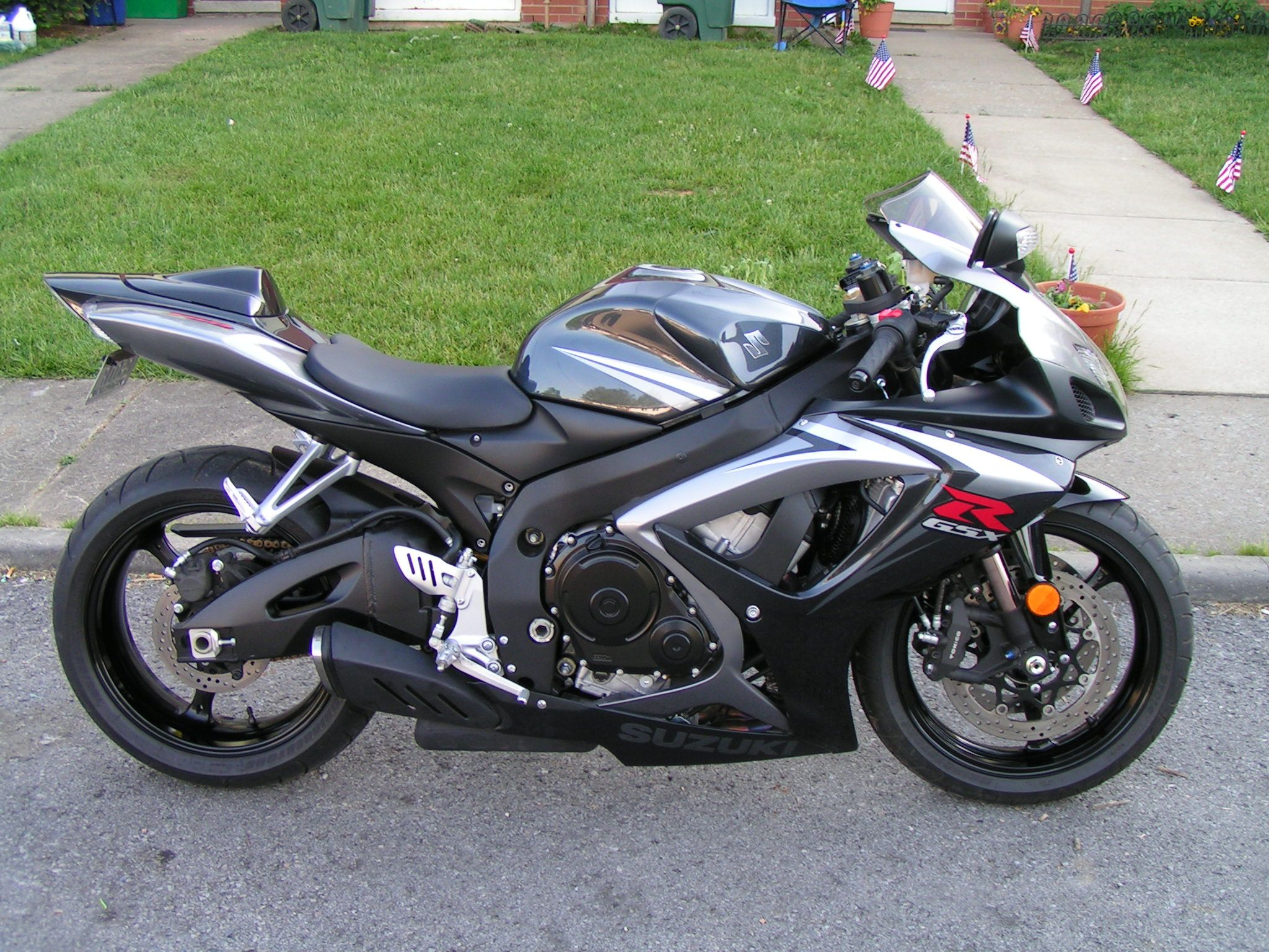 O My Baby My 2007 Suzuki Gsxr 750 This Was When I First Bought It Motor