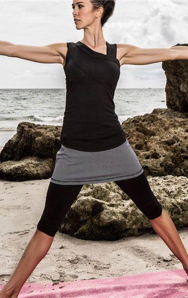 687d0fb3ac JoFit Ladies   Plus Size Tennis Outfits (Tank   Skort Leggings) - Redondo  Beach
