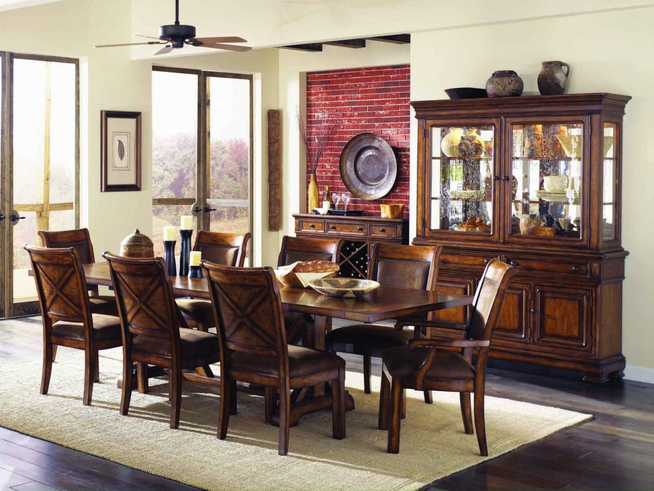 Legacy Classic Larkspur Trestle Table Dining Set Dining Room Sets Charming Dining Room Dining Room Design Dining rooms legacy classic