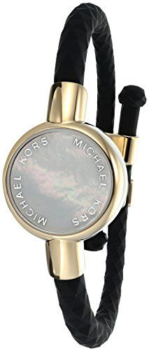 Michael Kors Access Activity Tracker Crosby Silicone Gold Bracelet Check Out This Great Product Note Amaz Black Bracelets Silicone Bracelets Michael Kors