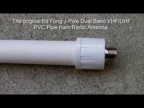 The Original Ed Fong Dual Band Vhf Uhf 70cm 2m J Pole