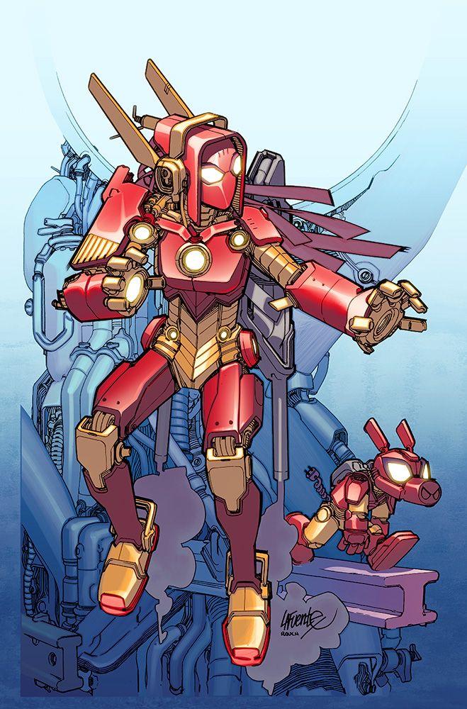 First Look: ARMOR WARS #1 - Comic Vine