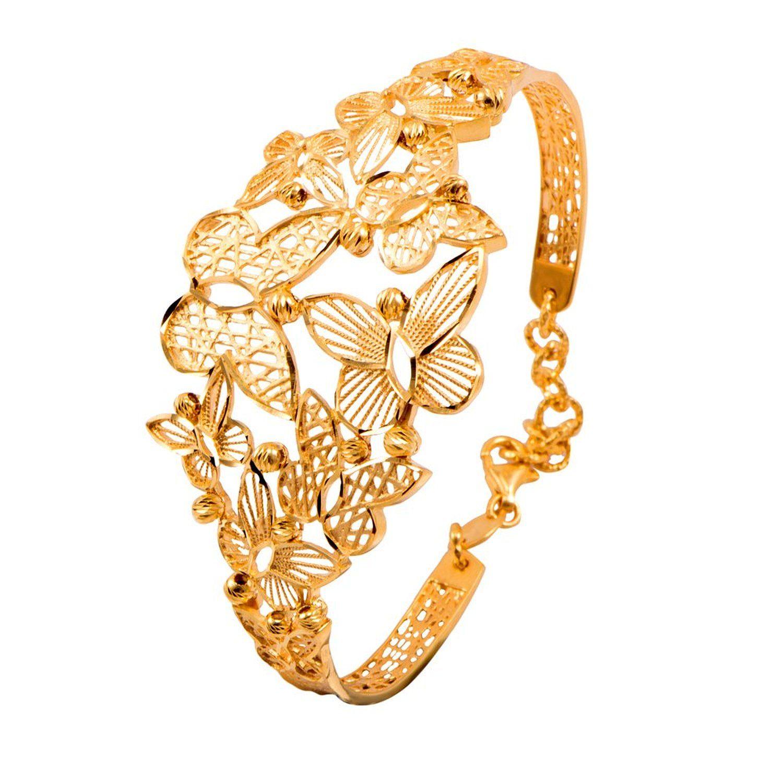 fd29b882899 Buy Joyalukkas Zenina Collection 22k Yellow Gold Charm Bracelet ...
