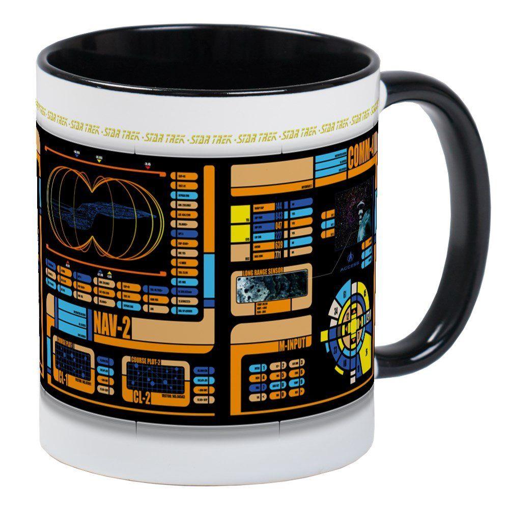 Cafepress star trek lcars mug unique coffee mug coffee cup
