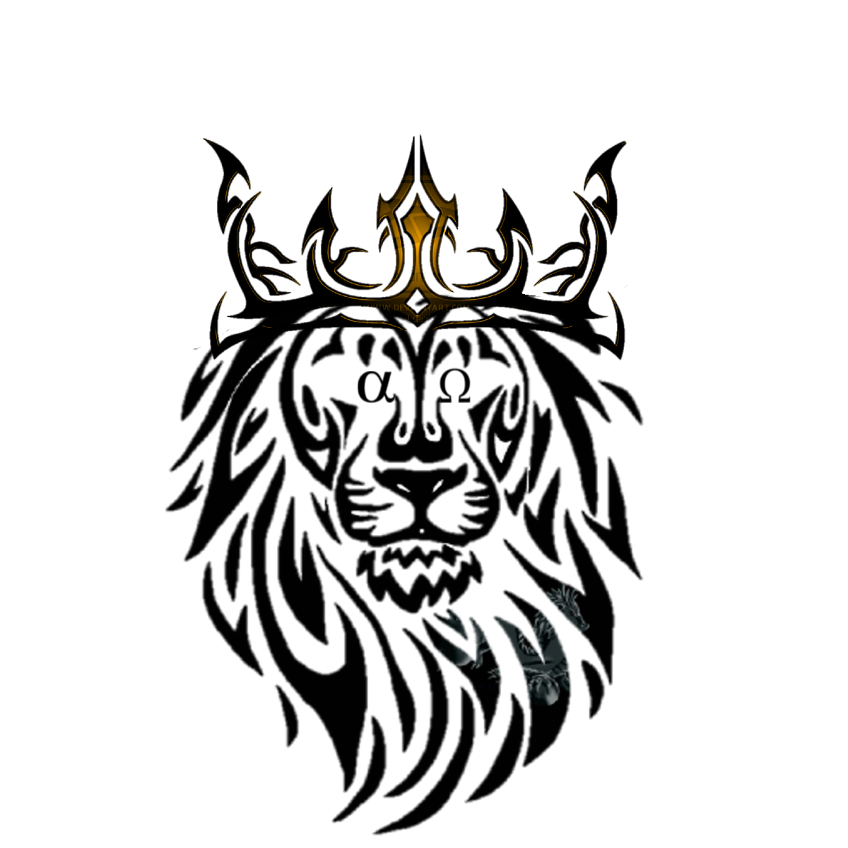 Alpha And Omega Lion Of Judah My First Tattoo Design