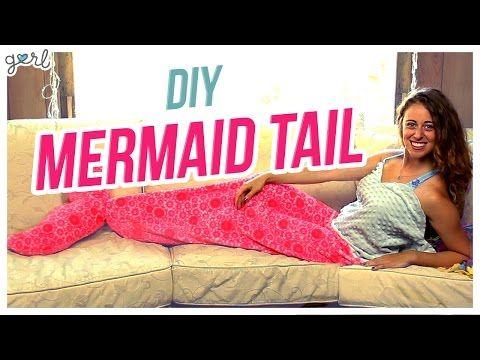 SNEAK PEEK Of Pt.1 Of My Mermaid Tail Blanket - YouTube