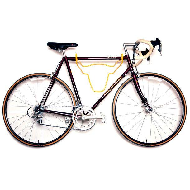 Trophy Bull Bike Rack Yellow