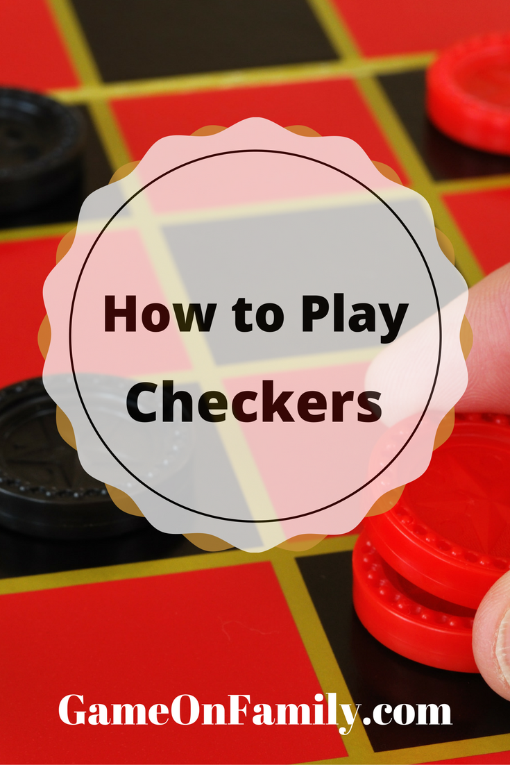 graphic about Printable Backgammon Rules identified as How towards Participate in Checkers Board Game titles Enjoy checkers, Enjoyable