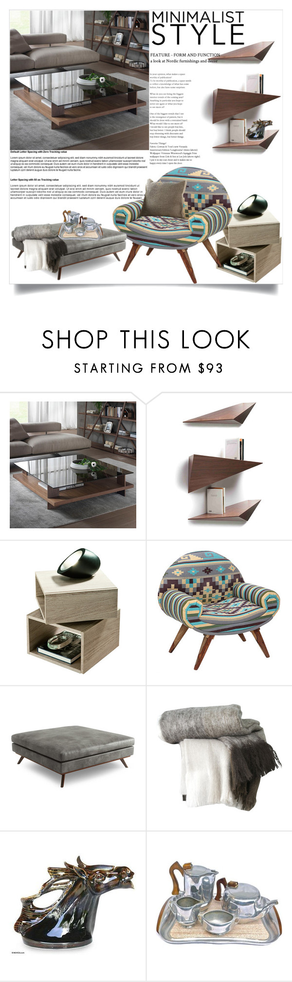 """""""Minimalist Home Stylings"""" by clotheshawg ❤ liked on Polyvore featuring interior, interiors, interior design, home, home decor, interior decorating, Pacini & Cappellini, Tonon, Karma Living and Thrive"""