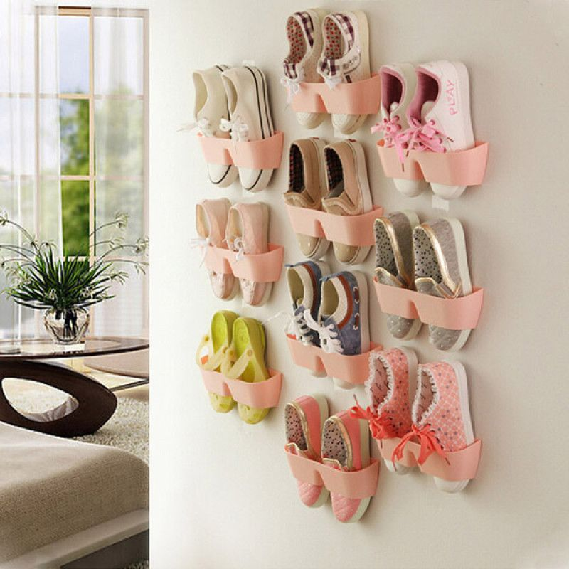 Kreative Hangen Schuhregal Wand Hangen Ausser Raum Schuhe Halter