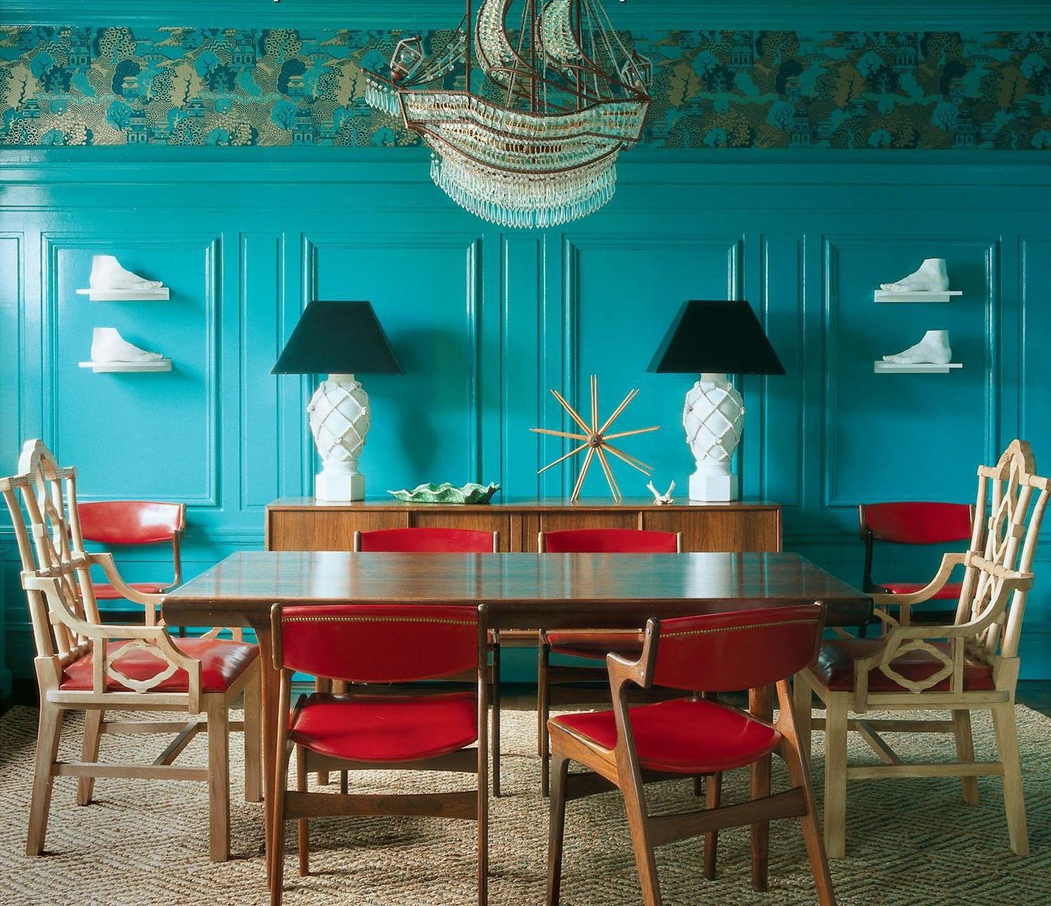 Wohnkultur esszimmer turquoise teal and white  for hong kong  pinterest
