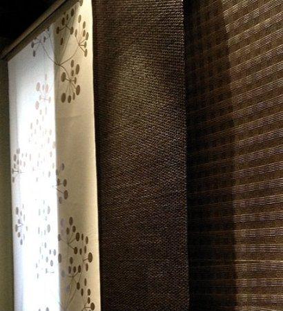 Amazon.com: Ikea SOLVEIG Window Panel Curtain Blackout Divider Brown Black  Kvartal: Home