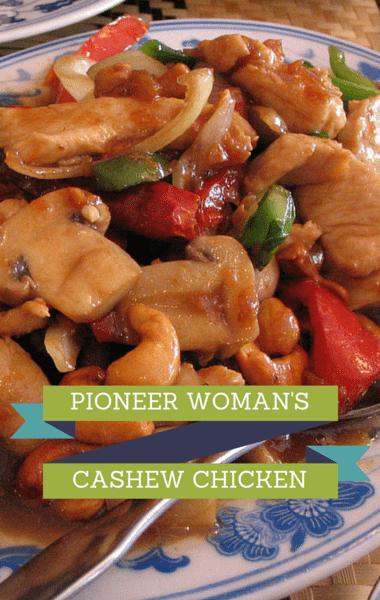 Dr Oz Pioneer Woman Cashew Chicken Recipe Chicken Dishes Yum