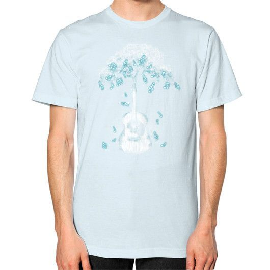 Sounds of Nature Unisex T-Shirt (on man)