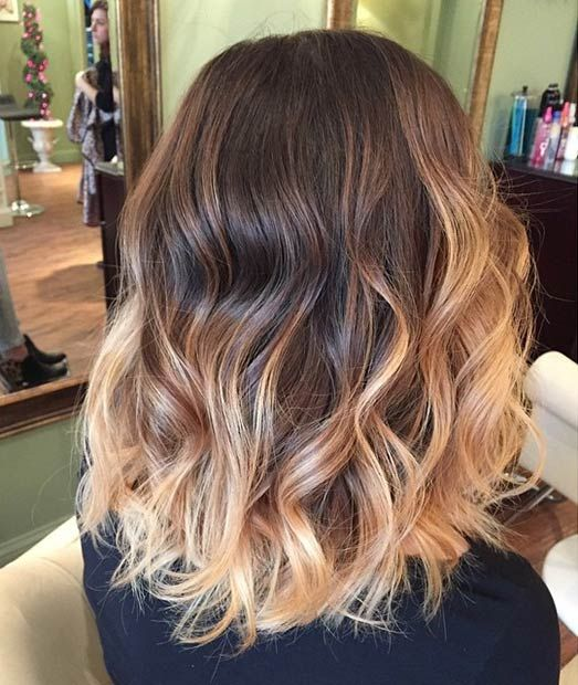 41 hottest balayage hair color ideas for 2016 pelo con estilo dark base caramel highlights its a modern twist on boho but this dark solutioingenieria Choice Image