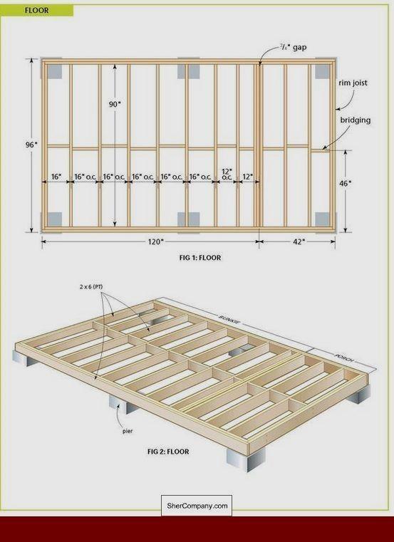 13++ Construire un abri de jardin en ossature bois ideas in 2021