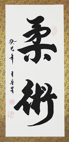 Custom Jujitsu Jujutsu Japanese Kanji Calligraphy Art