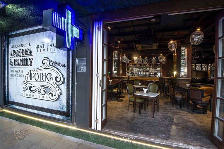 superfuture :: supernews :: bangkok: apoteka thonglor bar opening