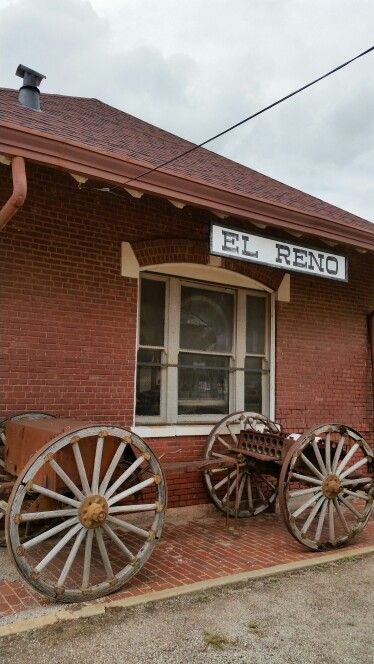 EL RENO OKLAHOMA ROCK ISLAND DEPOT | Train Stations ...