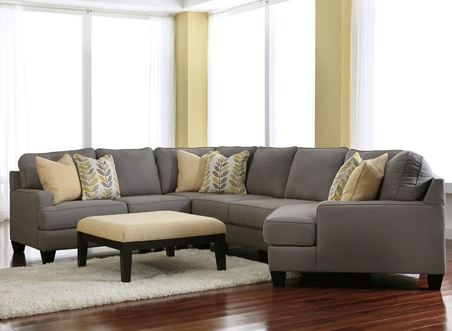 Chamberly Alloy Collection 24302 75 Sectional Sofa