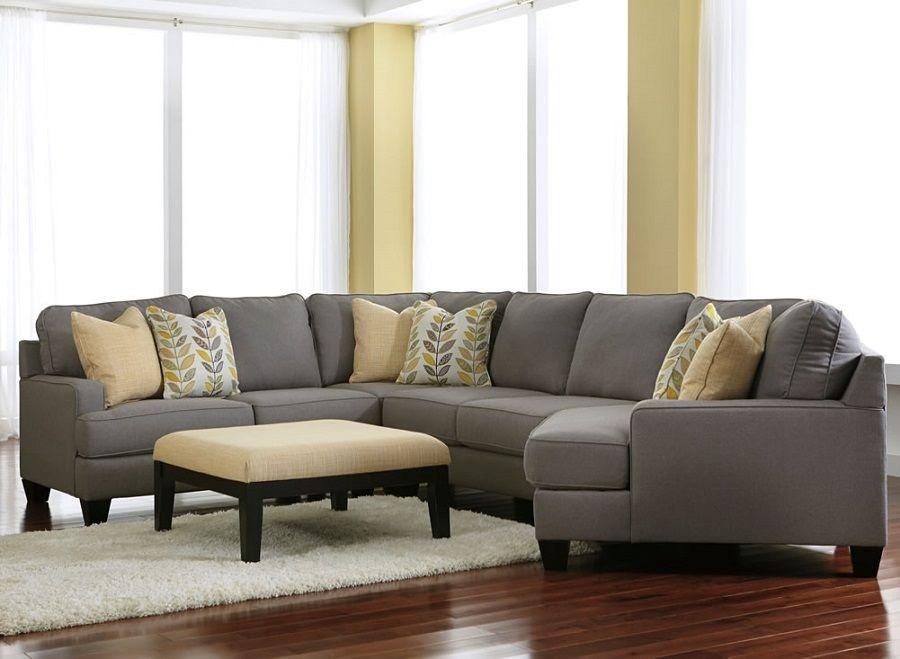 Merveilleux Ashley Furniture Chamberly Alloy 24302 Cuddle Corner Sectional In Grey Chula  Vista El Cajon Ca