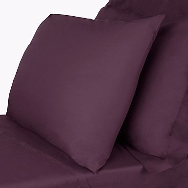 Purple Egyptian cotton bed sheets - Egyptian cotton percale - Bedding - Home & furniture -