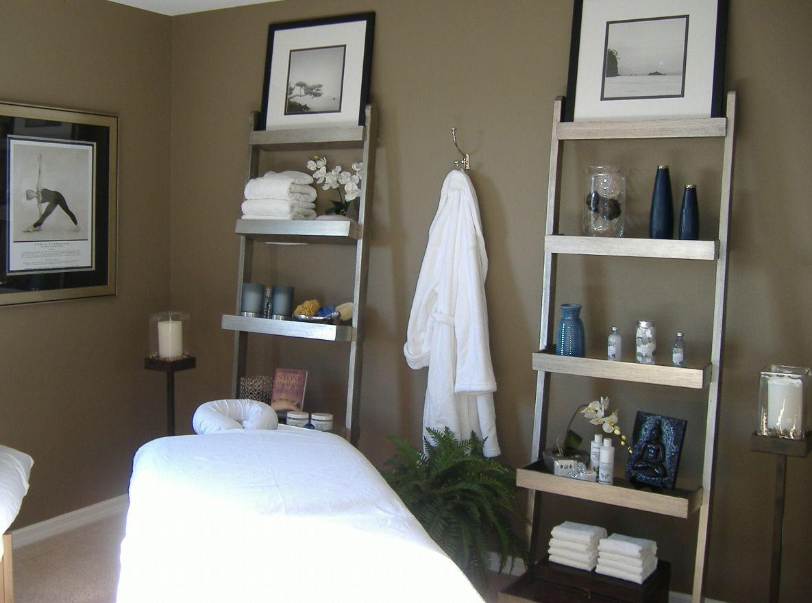 Pin By Glynda Cullen On Massage Room Decoration Massage Room Decor Spa Room Decor Spa Treatment Room