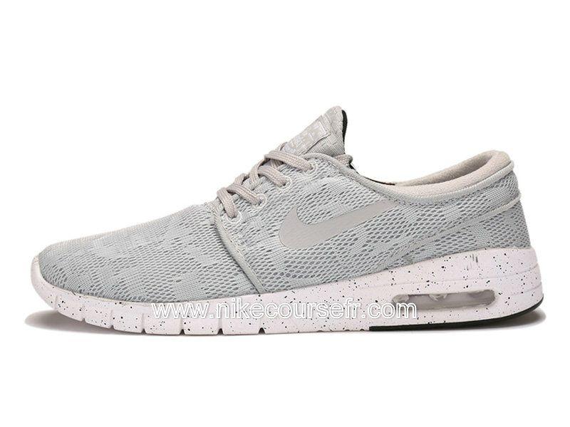 hot sale online 17007 8accb Nike SB Stefan Janoski Max Chaussures Pas Cher Pour Homme Gris 631303-001